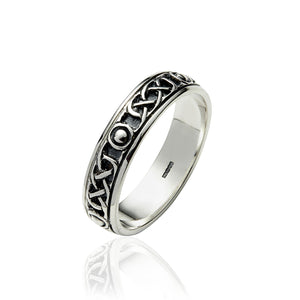 Solid Knot Eternity Band - Celtic Dawn - Jewellery Arts Crafts & Gifts  - 1