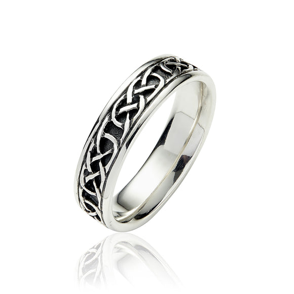 Endless Knot Eternity Band - Celtic Dawn - Jewellery Arts Crafts & Gifts  - 1