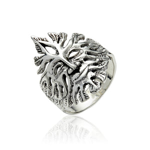 Green Man Ring - Celtic Dawn - Jewellery Arts Crafts & Gifts - 1