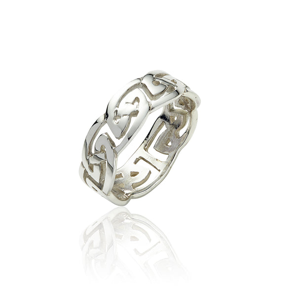 Open Knot Ring - Celtic Dawn - Jewellery Arts Crafts & Gifts - 1