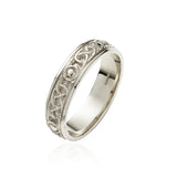 Solid Knot Eternity Band - Celtic Dawn - Jewellery Arts Crafts & Gifts - 2