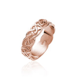 Interwoven Solid Knotwork Band