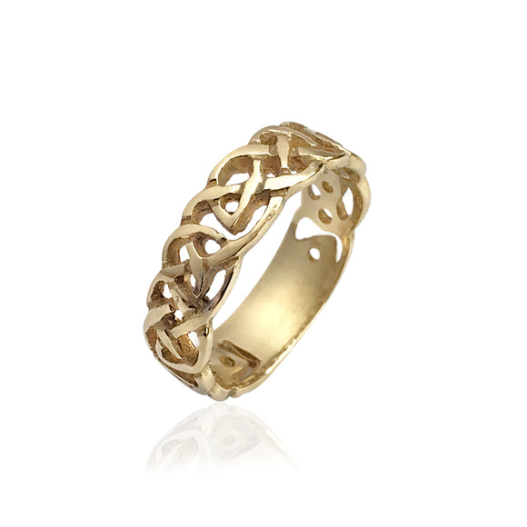 Interwoven Open Knotwork Band
