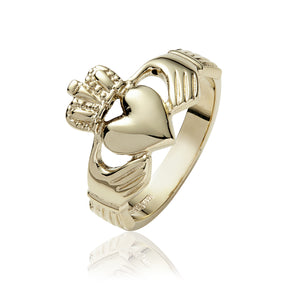 Traditional Claddagh Ring (Gents) - Celtic Dawn - Jewellery Arts Crafts & Gifts - 1