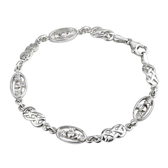 Claddagh Knotwork Bracelet