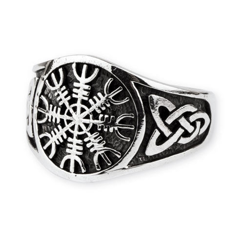 Helm of Awe Knotwork Ring
