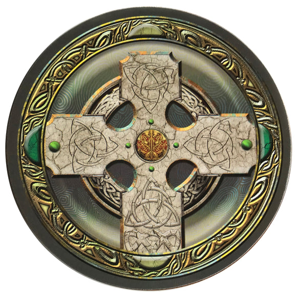 Celtic Cross Coaster Set