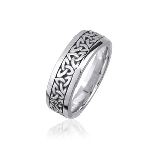 Solid Triquetra Band (Gents)