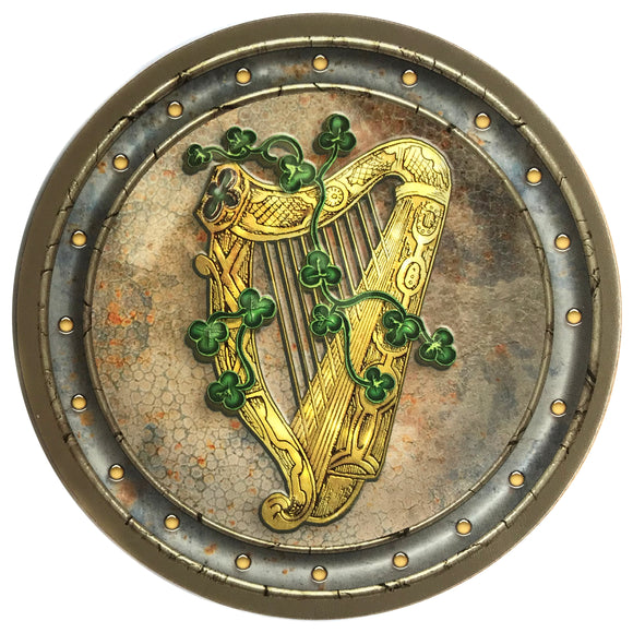 Irish Harp Coaster Set