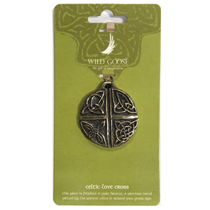 Celtic Love Cross Decoration