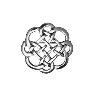 Interwoven Knotwork Brooch - Celtic Dawn - Jewellery Arts Crafts & Gifts