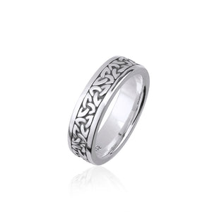 Solid Triquetra Band (Ladies)