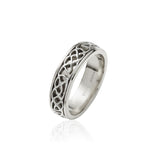 Narrow Inlayed Knotwork Band - Celtic Dawn - Jewellery Arts Crafts & Gifts - 4