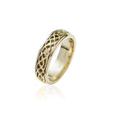 Narrow Inlayed Knotwork Band - Celtic Dawn - Jewellery Arts Crafts & Gifts - 3