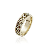 Narrow Inlayed Knotwork Band - Celtic Dawn - Jewellery Arts Crafts & Gifts - 1