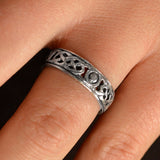 Open Knot Eternity Band