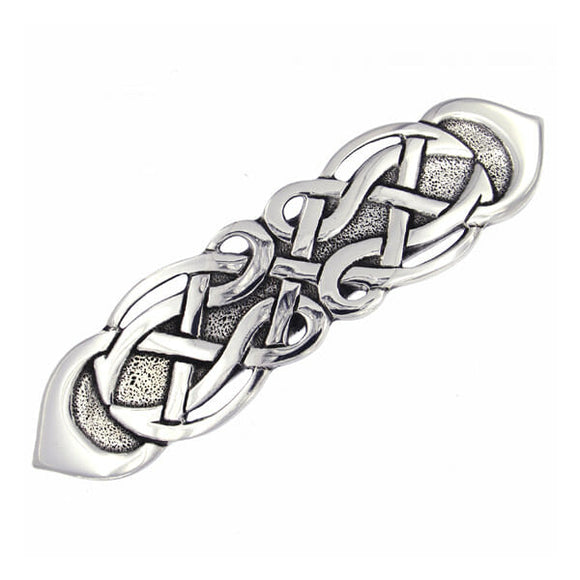 Knotwork Hair Slide