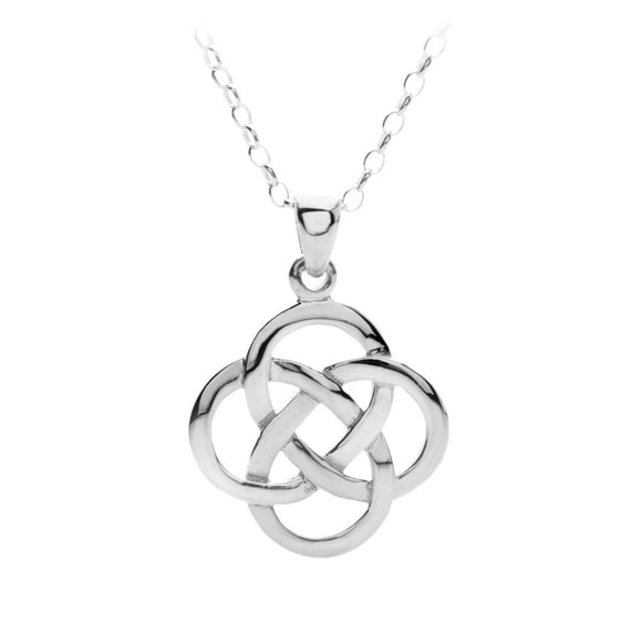 Open Knot Pendant (Large) - Celtic Dawn - Jewellery Arts Crafts & Gifts  - 1