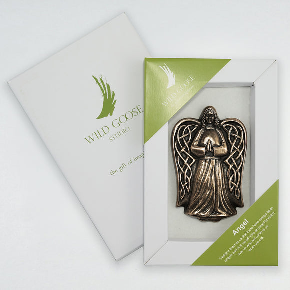 Angel Boxed Wall Plaque