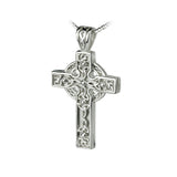 Celtic Cross Triquetra Pendant - Celtic Dawn - Jewellery Arts Crafts & Gifts  - 1