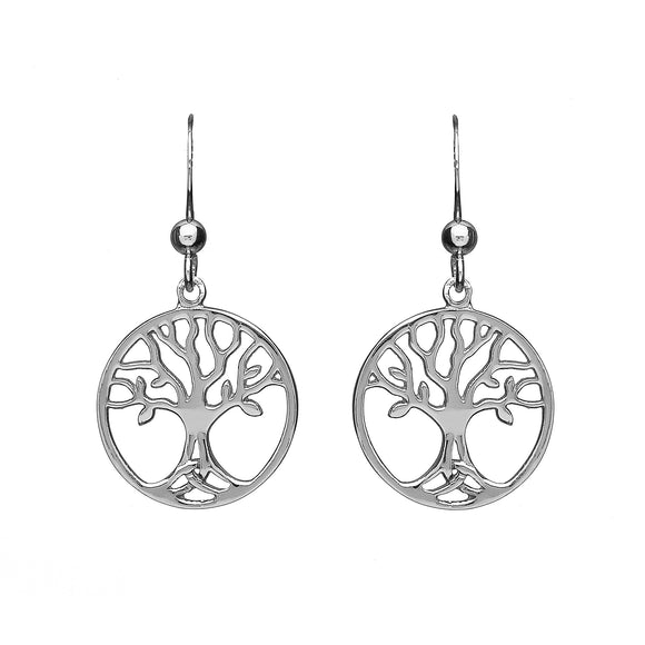 Triquetra Tree of Life Drop Earrings - Celtic Dawn - Jewellery Arts Crafts & Gifts  - 1