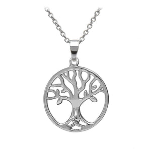 Triquetra Tree of Life Pendant - Celtic Dawn - Jewellery Arts Crafts & Gifts  - 1