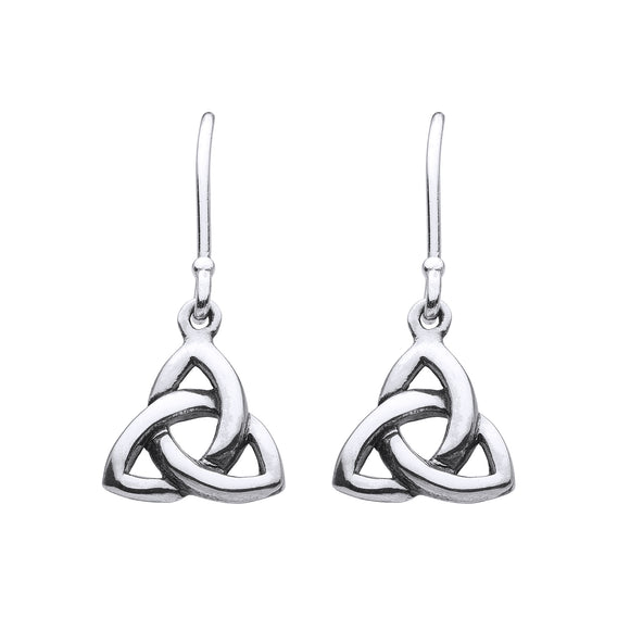 Triquetra Drop Earrings