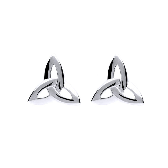Triquetra Stud Earrings - Celtic Dawn - Jewellery Arts Crafts & Gifts - 1