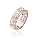 Triple Weave Open Knot Ring - Celtic Dawn - Jewellery Arts Crafts & Gifts - 3