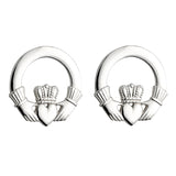 Claddagh Stud Earrings (Large)