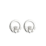 Claddagh Stud Earrings (Small)
