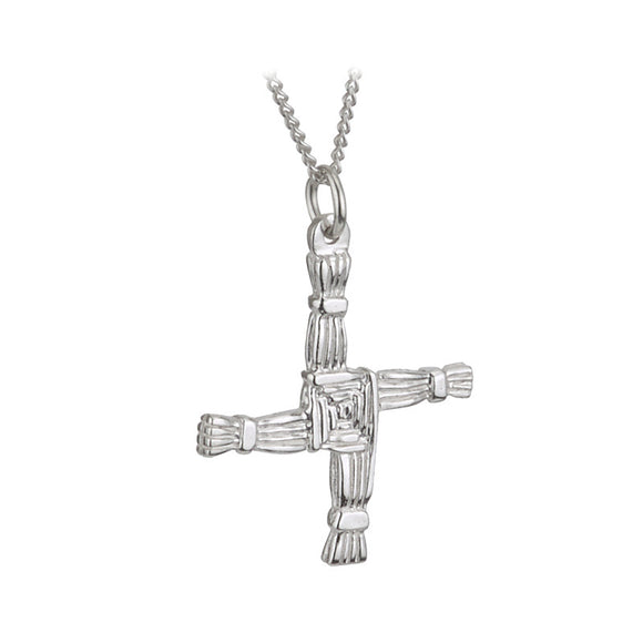St. Brigid's Cross Pendant - Celtic Dawn - Jewellery Arts Crafts & Gifts