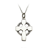 Plain Celtic Cross Pendant - Celtic Dawn - Jewellery Arts Crafts & Gifts  - 1