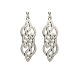 Endless Knotwork Drop Earrings - Celtic Dawn - Jewellery Arts Crafts & Gifts  - 1