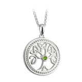 Peridot Tree of Life Pendant (Large) - Celtic Dawn - Jewellery Arts Crafts & Gifts  - 1