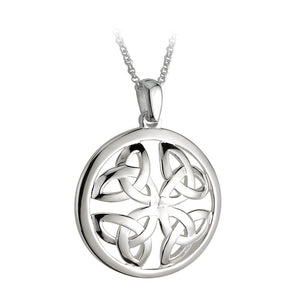 Round Triquetra Pendant - Celtic Dawn - Jewellery Arts Crafts & Gifts - 1