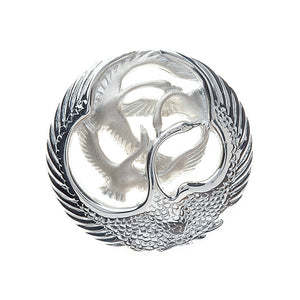Children of the Lir 4 Swan Brooch - Celtic Dawn - Jewellery Arts Crafts & Gifts  - 1