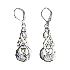 Children of the Lir Drop Earrings - Celtic Dawn - Jewellery Arts Crafts & Gifts  - 1