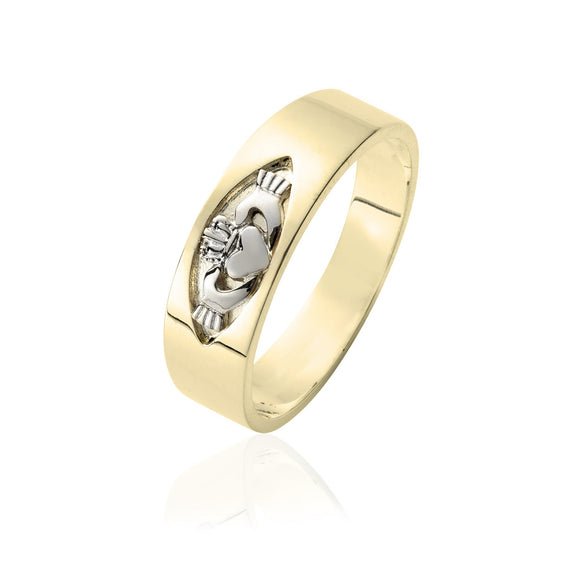 Unisex Claddagh Band
