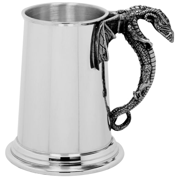 1 Pint Dragon Handle Tankard