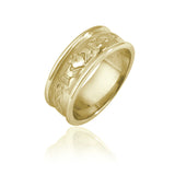 Traditional Claddagh Wedding Band (Gents)