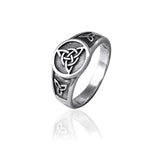 Circle of Life Triquetra Ring
