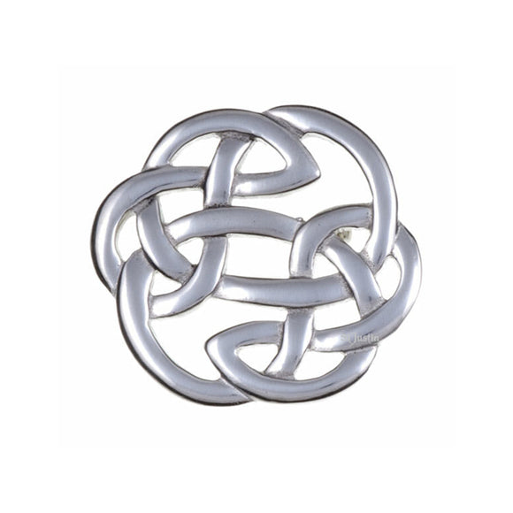 Open Knotwork Brooch
