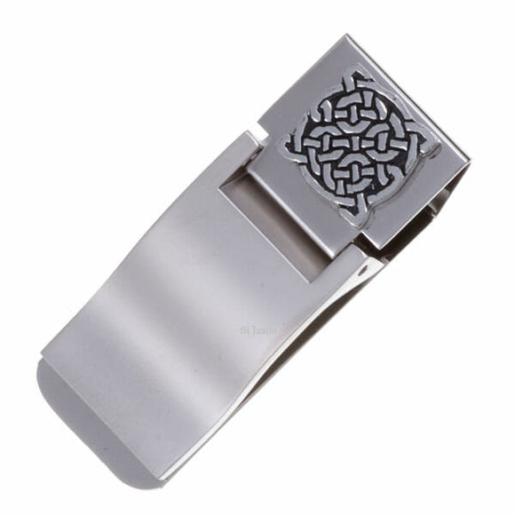 Knotwork Money Clip