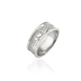 Traditional Claddagh Wedding Band (Ladies)