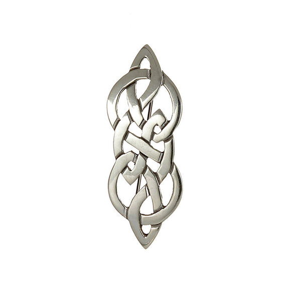 Endless Knotwork Kilt Pin Brooch - Celtic Dawn - Jewellery Arts Crafts & Gifts - 1