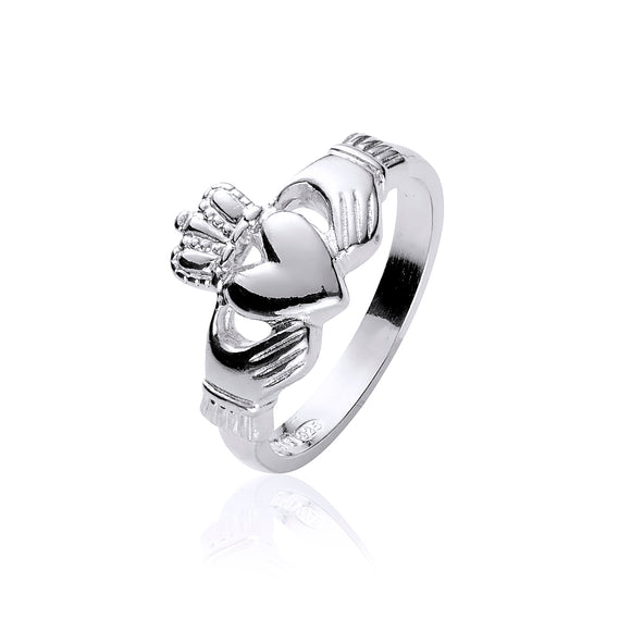 Traditional Claddagh Ring (Ladies Narrow Band)