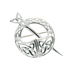 Tara Knotwork Brooch - Celtic Dawn - Jewellery Arts Crafts & Gifts  - 1