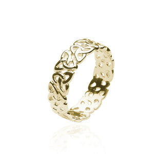 Open Triquetra Band - Celtic Dawn - Jewellery Arts Crafts & Gifts - 1