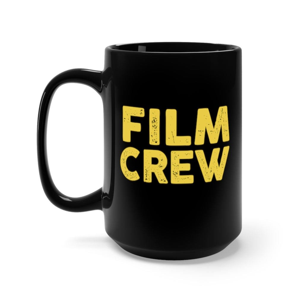 FILM CREW Black Mug 15oz